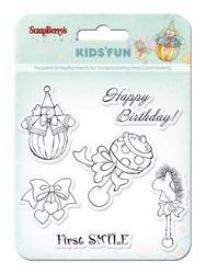 Scrapberry's clear stamp Kid's Fun SCB4901012b (Locatie: NN239 )
