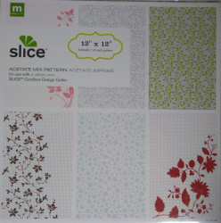 Scrapbook papier, 30,5x30,5 cm, 6 vel, 31146