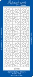 Starform sticker zilver 1035 (Locatie: HH123)