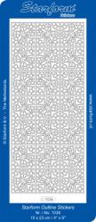 Starform sticker zilver 1036 (Locatie: HH126)