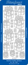Starform sticker zilver 1050 (Locatie: N166)