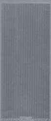 Starform stickervel zilver randje 1082 (Locatie: b303)