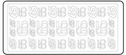 Sticker 65 zilver 20380/3654s (Locatie: H456 )