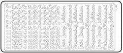 Sticker jubileum/verjaardag 20380/1681s (Locatie: H453 )