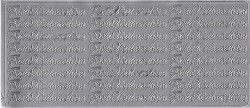 Sticker zilver frohe weinachten 3624 (Locatie: B267)