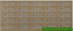 Stickervel met franse teksten (Locatie: A152 )