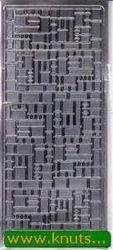 Stickervel zilver blokjes 1955 (Locatie: i272 )