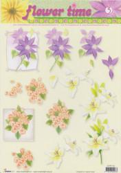 Studio Light knipvel bloemen nr. STAPFT 03 (Locatie: 5007)