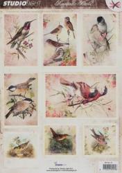 Studio Light stansvel Romantic Birds RPSL47 (Locatie: 6512)