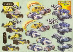TBZ knipvel sporting cars 504134 (Locatie: 0711)