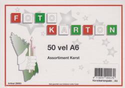 Vaessen kerstkarton 50 vellen A6 nr. 29693 (Locatie: s2)