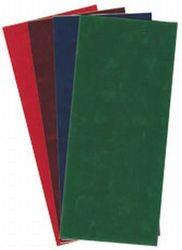 Velvet stickervel effen Blauw (Locatie: H438 )