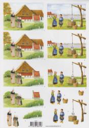 Voorbeeldkaarten knipvel boerderij 8650 (Locatie: 2734)