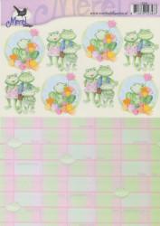 Voorbeeldkaarten knipvel geboorte 2343 (Locatie: 2769)