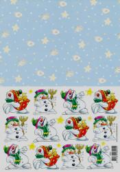 Voorbeeldkaarten knipvel kerstmis 8925 (Locatie: 1235)