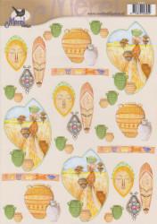 Voorbeeldkaarten knipvel merel design 2395 (Locatie: 2410)