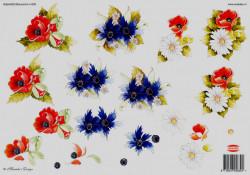 Wekabo knipvel bloemen 639 (Locatie: 1723)