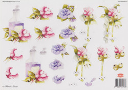 Wekabo knipvel bloemen 713 (Locatie: 1724)