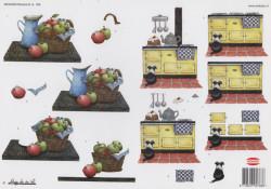 Wekabo knipvel keuken 768 (Locatie: 2510)