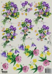 Wekon knipvel bloemen BM0070 (Locatie: 2216)