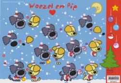 Woezel en Pip knipvel kerstmis WP10003 (Locatie: 2352)