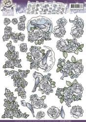 Yvonne Creations knipvel vogel CD10585 (Locatie: 4309)