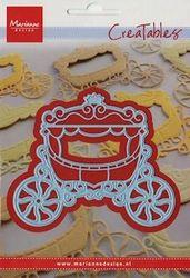 Marianne Design Creatables snij- en embosmal Princess Carriage LR0302 (Locatie: V002)