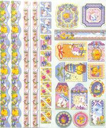 Joy!Crafts Sparkling Embossed stickers Pasen 6013/0020 (Locatie: 1RA1)