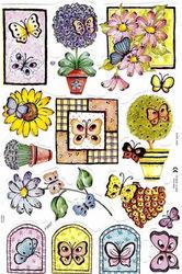 Poezieplaatjes Vlinders foliedruk MLP2003 (Locatie: MP090)