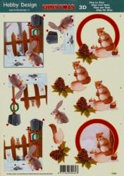 Hobby Design knipvel kerst 73058 (Locatie: 4509)