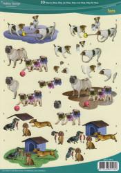 Hobby Design knipvel honden 73111 (Locatie: 2704)