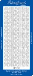 Starform sticker glitter goud/zilver 7018 (Locatie: BB122)