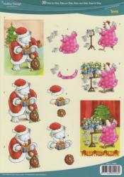 Hobby design knipvel kerst 73083 (Locatie: 2417)