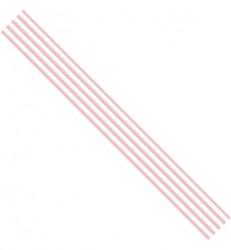 Lint roze streepjes, 3 meter lang, 15mm breed (Locatie: k3)