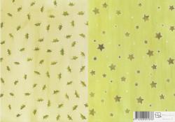 Achtergrondpapier Marjoleine Hulst/Sterren dessin 6 (Locatie: 2568)