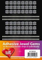 Adhesive Jewel Gems zelfkl strips transpara HC 7455 03 (Locatie: 1F )
