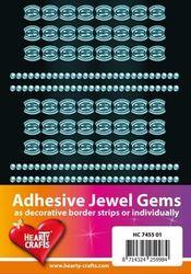 Adhesive Jewel Gems zelfklevende strips blauw HC 7455 01 (Locatie: 1F )