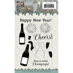 Amy Design Clear Stamp Happy New Year ADCS10053 (Locatie: k79)