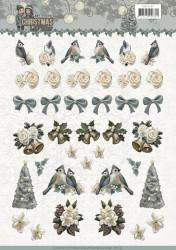 Amy Design knipvel kerstmis CD11197 (Locatie: 1572)