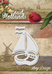 Amy Design snijmal oud Hollands klompboot ADD10049 (Locatie: d98)