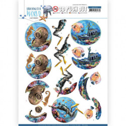 Amy Design stansvel onderwater wereld SB10454 (Locatie: 0246)