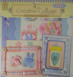 Creative Collage scrapbook kit