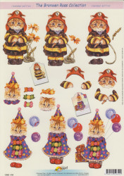 Doe maar knipvel katten 11052-610 (Locatie: 6109)
