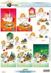 Doe Maar knipvel kerst 11055-351 (Locatie: 0125)