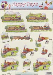 Doe Maar knipvel treinen 11053-149 (Locatie: 5011)