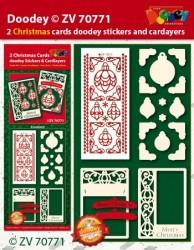 Doodey kaartenpakket kerstmis ZV70771 (Locatie: 4421)