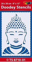 Doodey Stencil Boedha 20 x 30 cm TS8710-01 (Locatie: 4630)