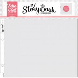"Echo Park My Story Book Pocket pages 12""x12"" (31,5 x 31,5 cm) 10 stuks MSBPP1201 (Locatie: S2)"