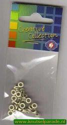 Eyelets ivoor 25 stuks nr. 20407/21 (Locatie: 5RC1 )
