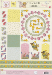 Flower Fairies knipvel STAPFF35 (Locatie: 2641)